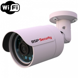 IP-видеокамера BSP Security 2MP-BUL-3.6 Wi-Fi Разрешение 2Mpix, f=3.6 мм, PoE