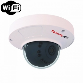 IP-видеокамера BSP Security 2MP-DOM-3.6 Wi-Fi, Разрешение 2Mpix, f=3.6 мм, PoE